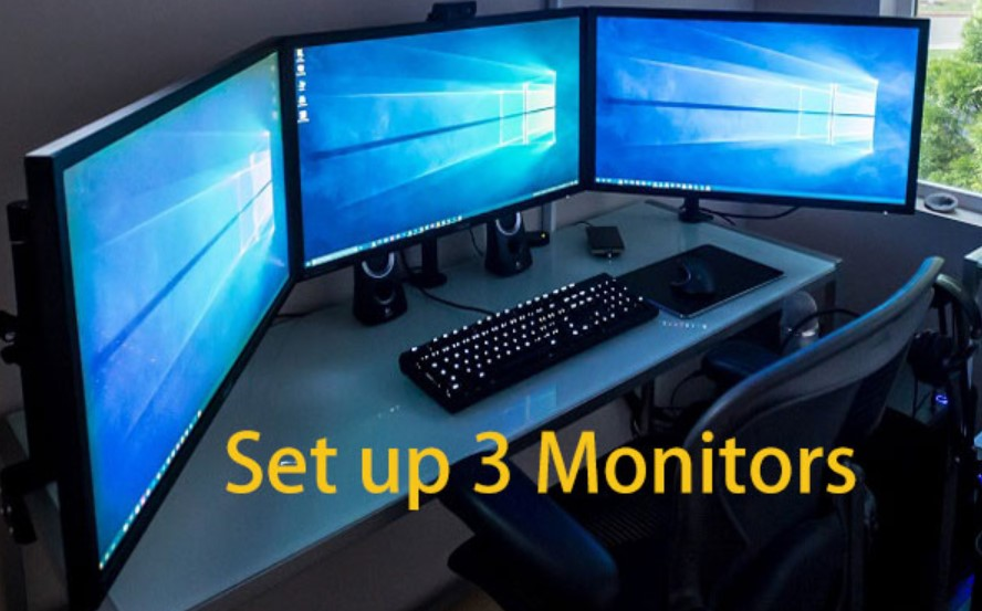 3 Monitors Windows 10